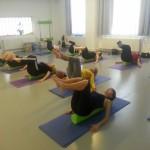 Pilates na válci v Centru tanci