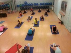 Skupinová lekce pilates